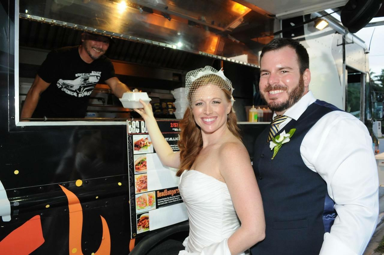 Orlando Food Truck Wedding